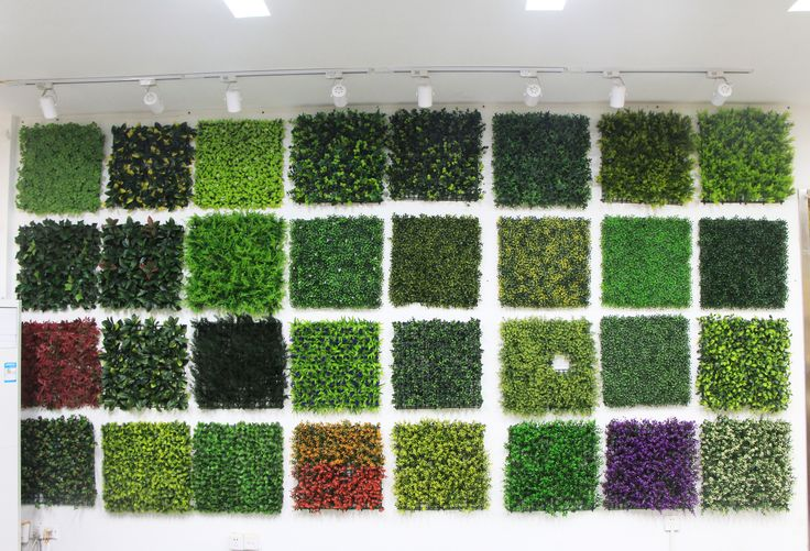 Take an overview of part of artificial hedges samples. Any landscape design or architectural projects, let's talk!