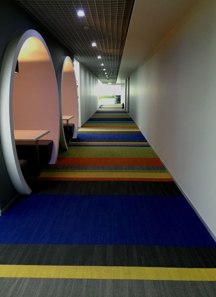 Various colours in Scape tile by Shaw Contract