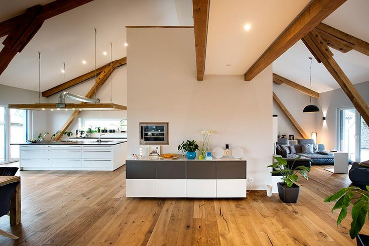 Conversion of an old barn into a residential building