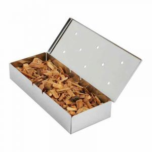 Use a smoker box inside your grill to add flavor and to tenderize meats. You need one to make that delicious barbecue pulled pork everyone asks about
