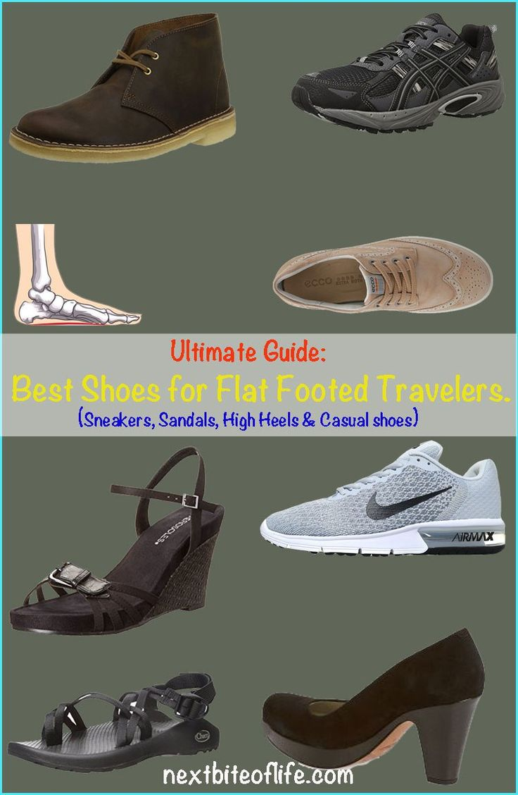 Got flat feet? The ultimate guide to finding the best shoes for flat feet including casual, walking and best high heels for flat feet. #shoes #flatfeet #bestshoes
