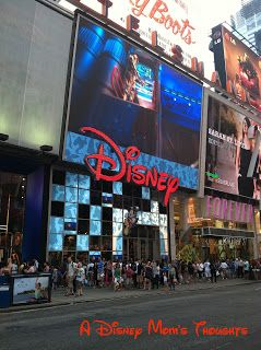 A Disney Mom's Thoughts: NYC Times Square Disney Store