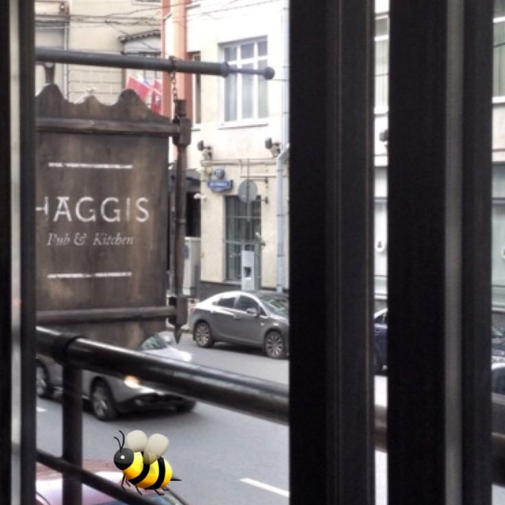 Haggis Pub in the heart of Moscow. Petrovka 15