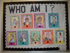 Biography Bulletin Board Research Project Who Am I