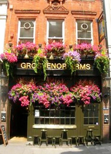 : Style Sabbychic Country, Container Garden, Oxfords England, Flower Shops, Grosvenor Arm, Storefront, Flowers Shops