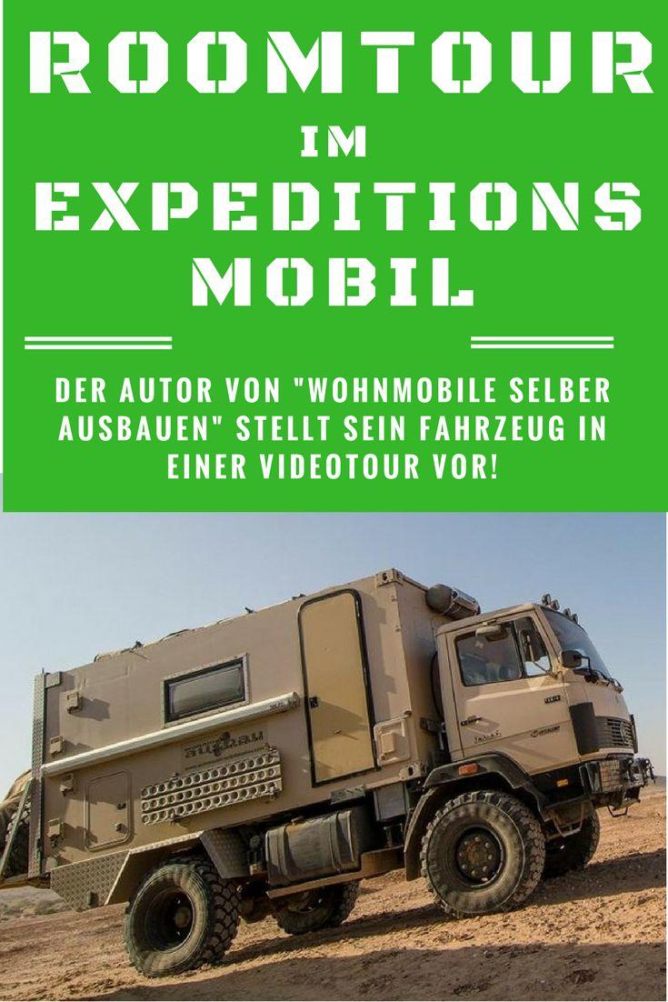 """Roomtour im Expeditionsmobil """"Sternchen"""" von Ulrich Dolde / Videovorstellung / Autor des Buches Wohnmobile selber ausbauen und optimieren"""