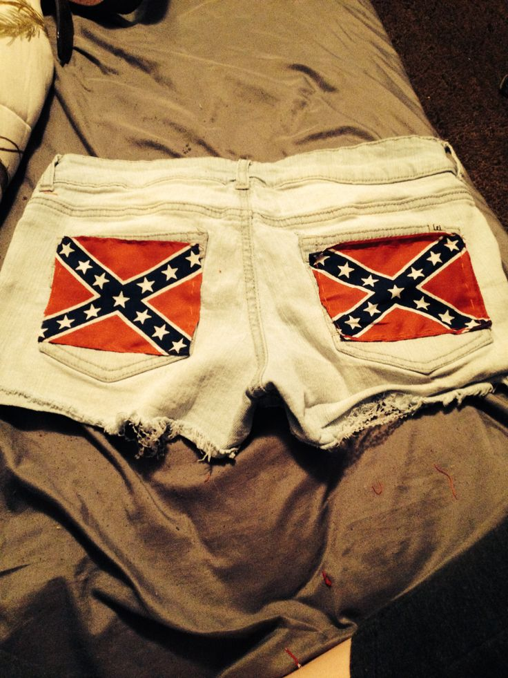 Rebel flag shorts I made #rebelflag #rebel #summer #Shorts