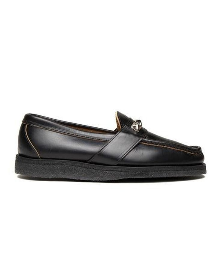 STUDS LOAFER CREPE WEDGE SOLE