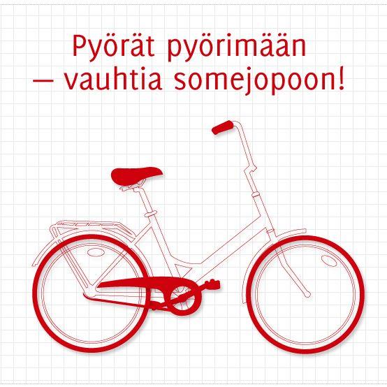 Pyörät pyörimään — vauhtia somejopoon #some via @Masatoh Nakano Oy