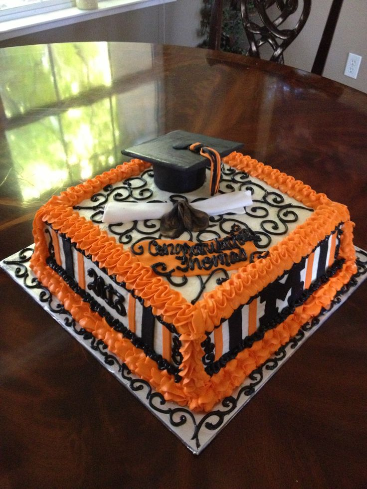 School Of Cake Design : Merced High School Graduation Cake I made. Things made ...