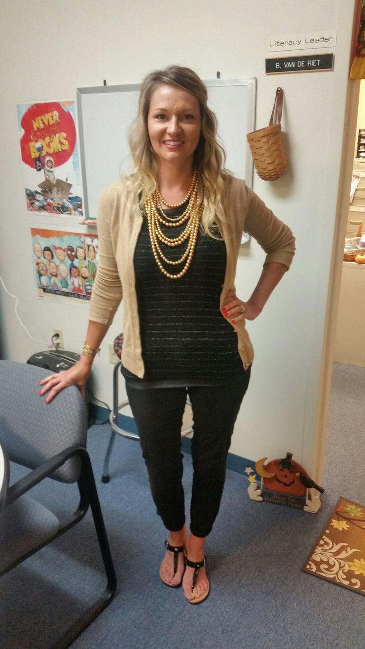 Black & Gold Teacher Clothing Blog