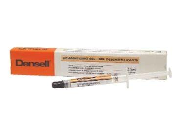 DESENSITIZER K+ F • A base de nitrato de potasio y fluoruro de sodio • Incoloro • Elimina y reduce la sensibilidad dentinaria • Ideal para pre y post-blanqueamiento • Jeringa 1.2 ml - Cod 6587