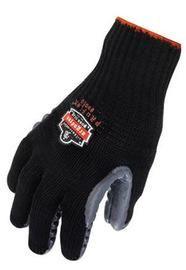 Ergodyne Medium Black ProFlex® Rubber Full Finger Anti-Vibration Gloves With Elastic Cuff