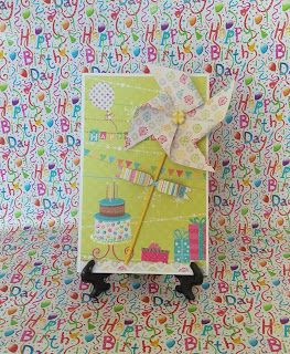 """wonderfull life: Ръчно изработена картичка """"Рожден ден"""""""