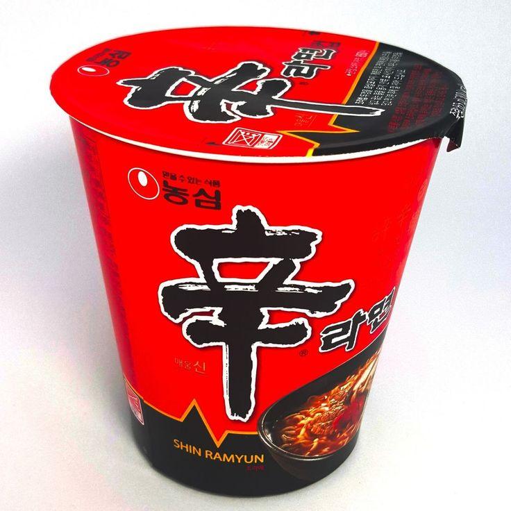 Hot Spicy Noodles x 3,6,9,12 Cups/NongShim Shin Ramen /Korean Fire Noodle Ramyun #NongShim #InstantNoodlesSmallCup