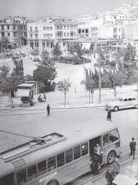 1953 ~ Kypseli square in Athens