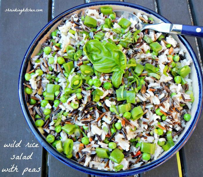 Spring Wild Rice Salad Recipe — Dishmaps