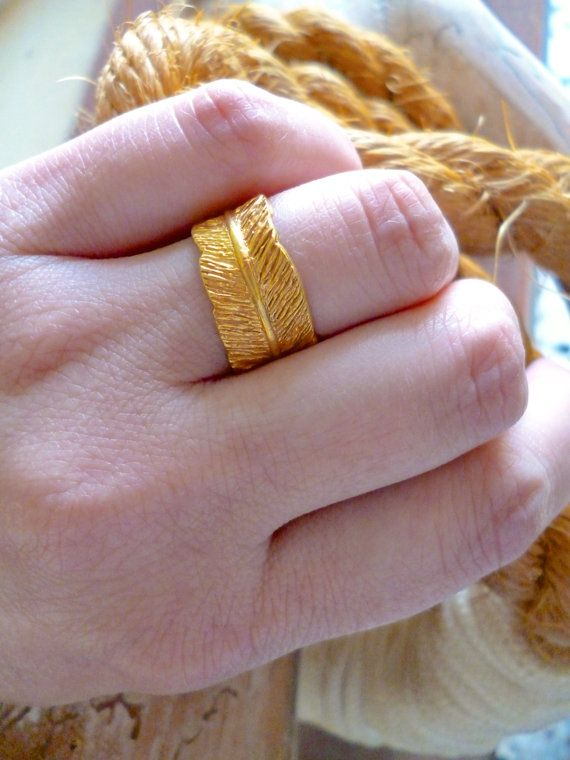 Hey, I found this really awesome Etsy listing at https://www.etsy.com/listing/271019432/feather-ring-wrap-ring-boho-chic-ring