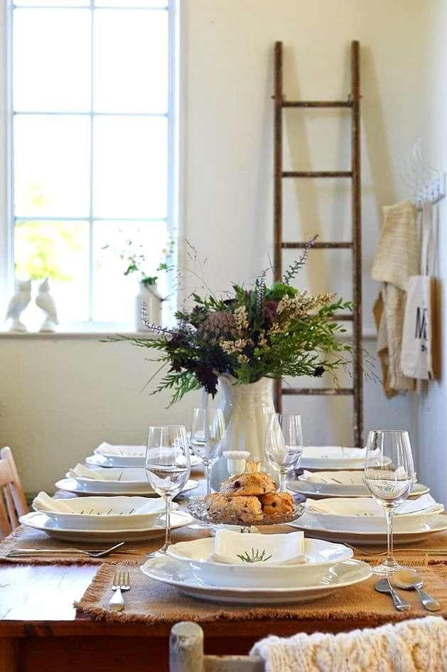 ideas para decorar la mesa estas fiestas decoracion low costideas