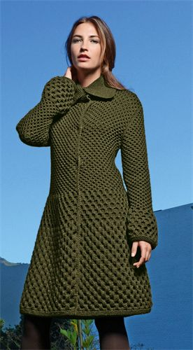 Bergere de France Coat Pattern                                                                                                                                                     More