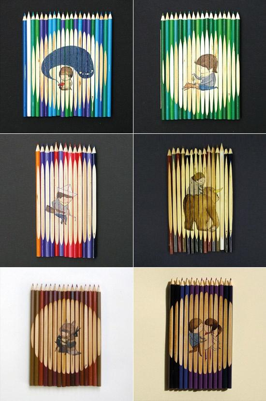 Ghostpatrol Pencil Sets