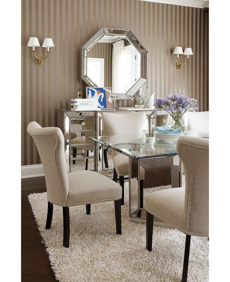 Sophia Dining Room Furniture 7 Piece Set Table And 6 Side Chairs