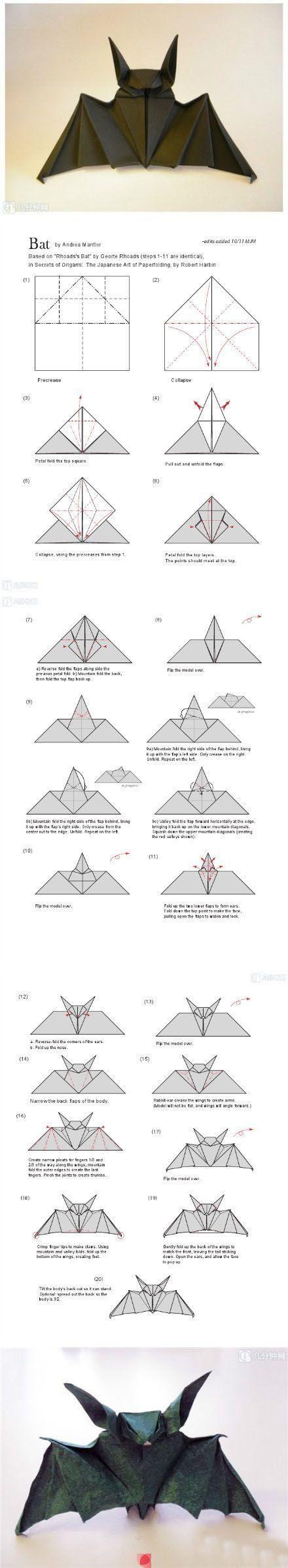 Origami - Bat