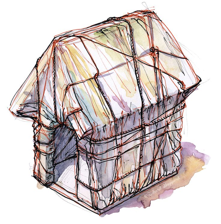 Christo's Wrapped Snoopy House