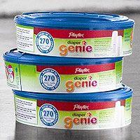 http://www.toysonlineusa.com/category/diaper-genie-refill/ http://www.babytoys6months.com/category/diaper-genie/ Playtex Diaper Genie Refill 3 Pack - 810 Count