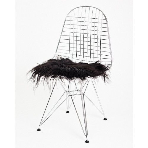 The Organic Sheep - chairpad in black