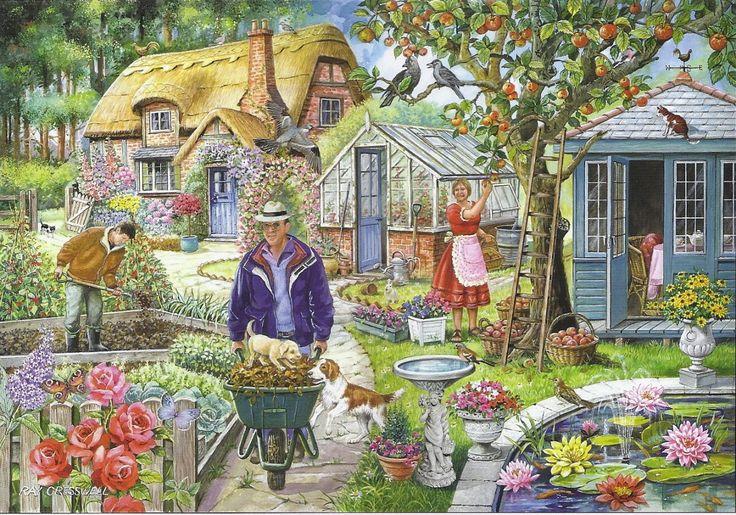 Praatplaat tuin, kleuters