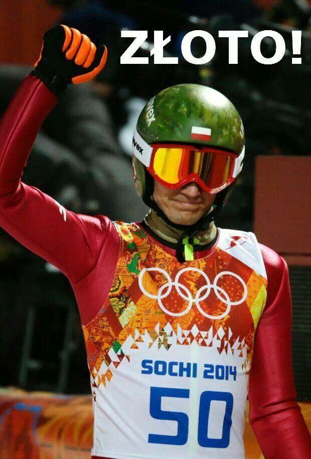 Kamil Stoch - mistrz olimpijski! Brawo!