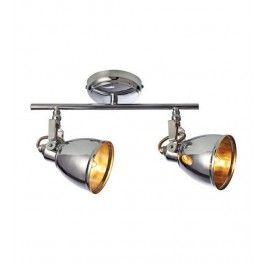 FJALLBACKA Markslojd 104906 Lampa sufitowa, reflektor dwupłomienny Chrom
