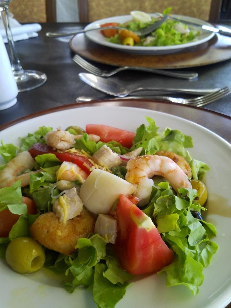 Salada (Restaurante Giratório, Santiago, Chile)