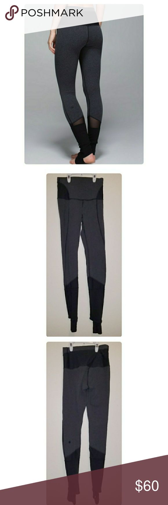 Lululemon devi yoga thick legging stirrup 6 Super cute and great for fall! From a smoke free home. lululemon athletica Pants Leggings