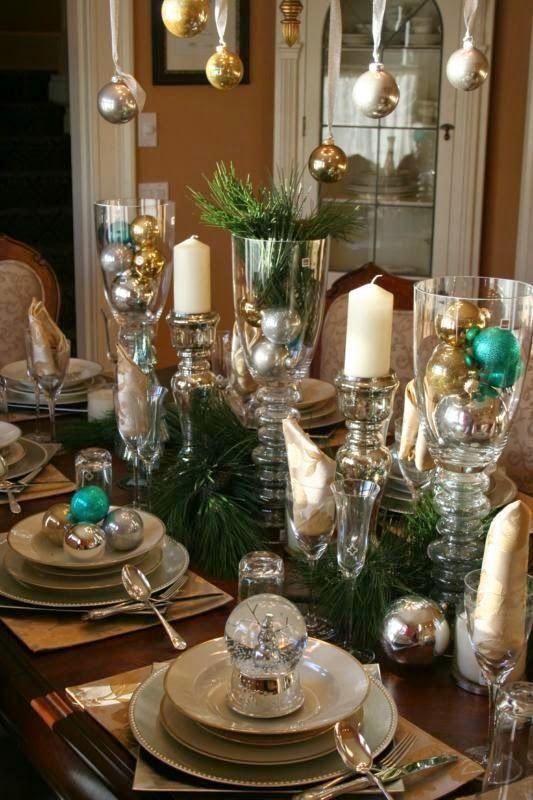 80 Ιδέες για να διακοσμήσετε το χριστουγεννιάτικο τραπέζι!