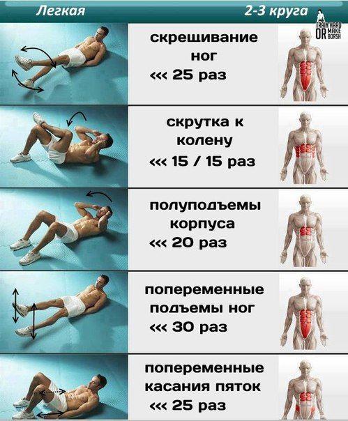 http://workout-idea.ru Два уровня сложности тренировки пресса
