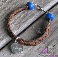 Make a Horse Hair Bracelet - wikiHow I have made one before, but I love these tips.
