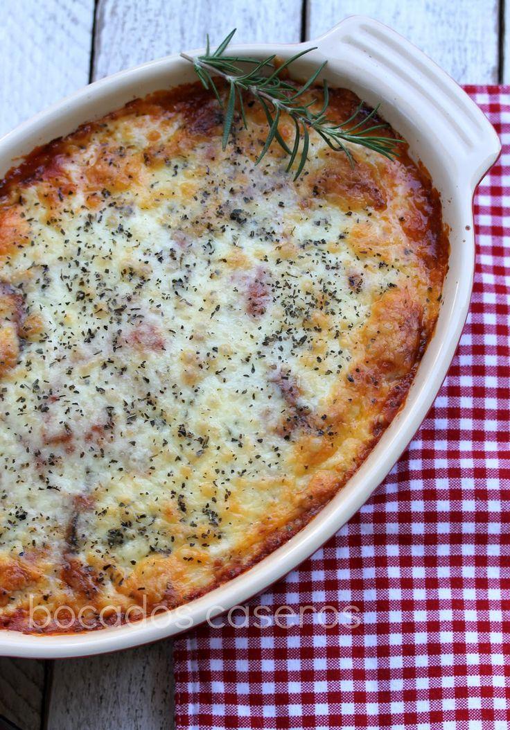 Elija una berenjena brillante, tersa y  regordeta para  hacer este plato principal vegetariano tan típico de la cocina Italiana, me ...