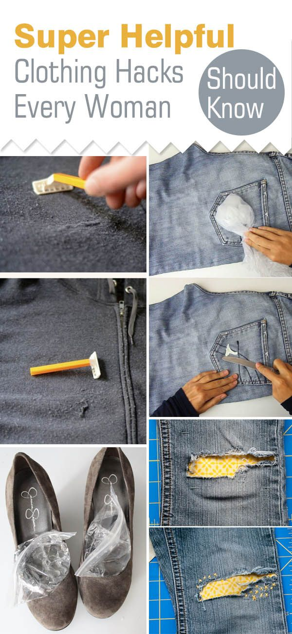 These 9 clothing hacks and tips are THE BEST! I'm so happy I found this GREAT…