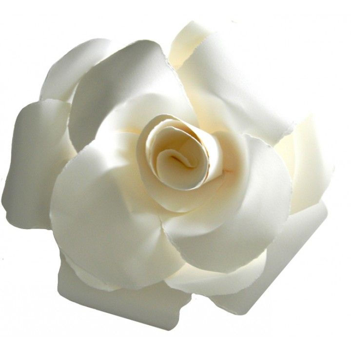Each Peaceful Petal® Flower Water Burial Urn is a beautiful white flower urn, hand created with French paper. The Peaceful Petal in white resembles many flowers, especially a white rose. White roses are a symbol of honor, spiritual love and respect; which is why they are perfect to remember a loved one. White roses also symbolize light, innocence, purity and a spiritual union between the departed soul and God in heaven.