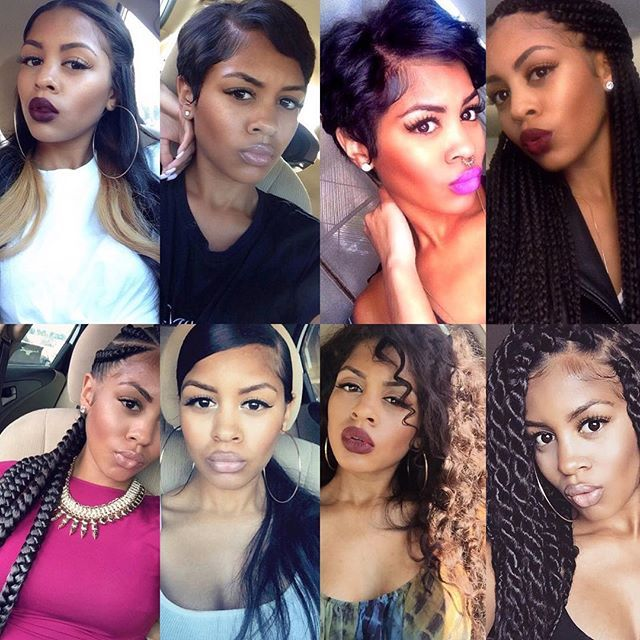 443 best Hairstyle For women of color images on Pinterest ...