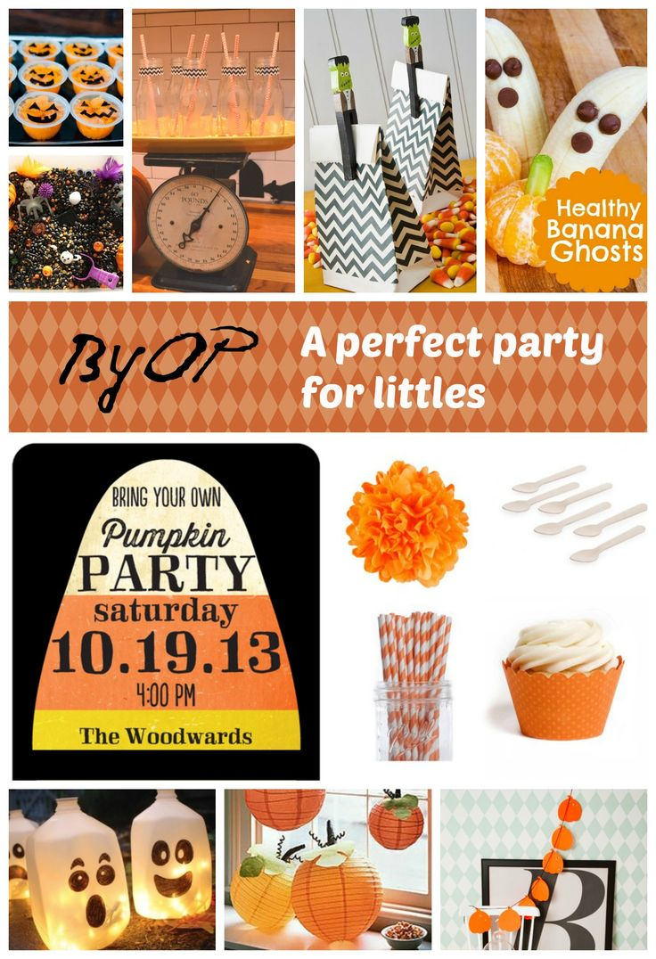 Bring Your Own Pumpkin Party for Kids - NewlyWoodwards