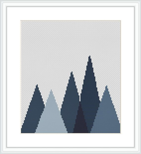 This is an Instant Download PDF Cross Stitch Pattern.  ---------------------------------------  Stitch Counts of embroidered image: 100 wide x 78 high Colors Used: 5  I recommend using 14 count Aida fabric with 2 strands of DMC floss. If you want the project to be smaller, use 18 count fabric and 1 strand of DMC floss. Aida size: 14 count  Area of embroidered image 7.1 4 x 5.57 inches or 1 8.1 4 x 1 4.1 5 cm  Finished sizes do not include margins - ideally you should add on all sides for…