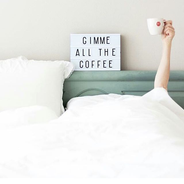 """665 Likes, 8 Comments - A Little Lovely Company (@alittlelovelycompany) on Instagram: """"Give me the hour back... #mondayquote #coffeeneeded #theoriginallightbox #2yearswarrantyincluded…"""""""