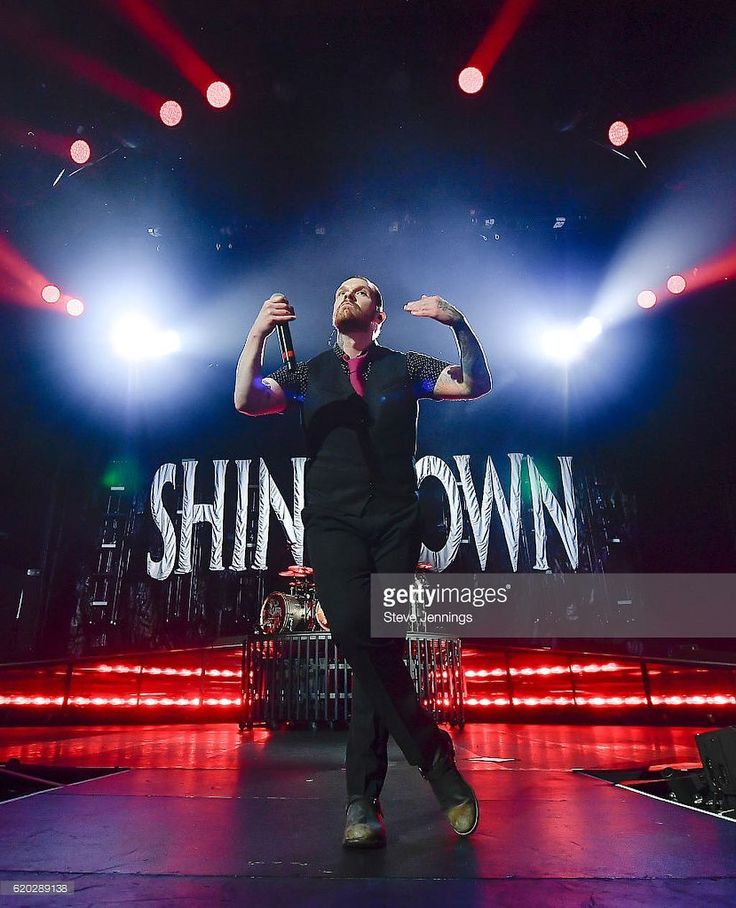 .@TheBrentSmith in San Jose CA #Shinedown #BrentSmith (Photo by Getty Images / Steve Jennings)
