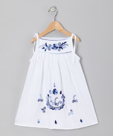 Take a look at this Monaco Blue Lolita Dress - Infant, Toddler & Girls by Little Cotton Dress on #zulily today!