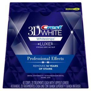 Best At Home Teeth Whitening no. 1. Crest 3D White Professional Effects Whitestrips Teeth Whitening Kit. The most popular products for putting a shine back onto teeth are whitening strips, and Crest dominates the market.