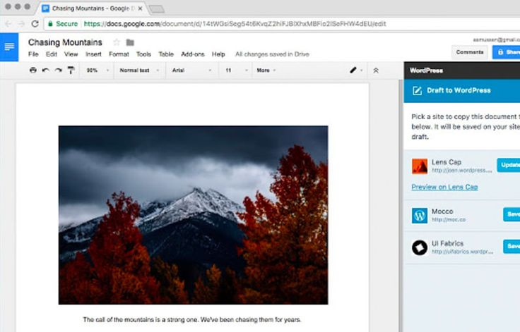 WordPress has just gotten a whole lot more flexible as the content management system now has an open-source Google Docs add-on.  Available on the Google Web Store page,...