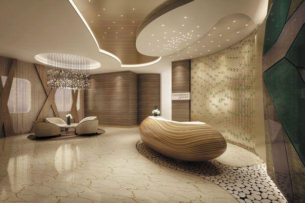 Spa der Regent Seven Seas Explorer - neue Dimension der Luxuskreuzfahrten #regentcruises #luxuskreuzfahrten #barefoottraveldesign